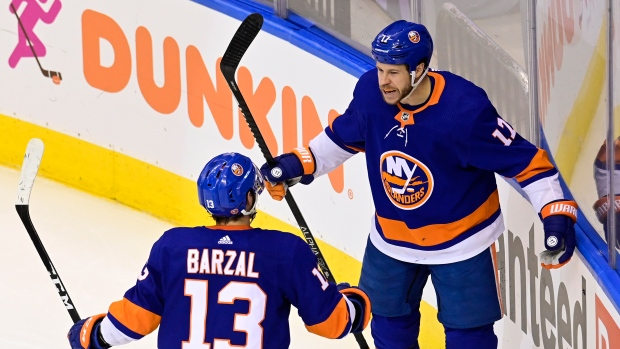 Matt Martin and Mathew Barzal