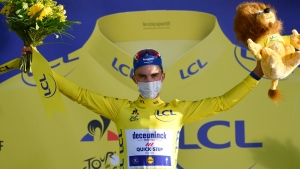 Alaphilippe takes emotional win at Tour de France