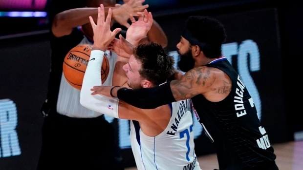 Los Angeles Clippers Marcus Morris Dallas Mavericks Luka Doncic Fined For Actions In Game 6 Tsn Ca
