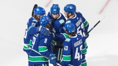 Canucks Celebrate