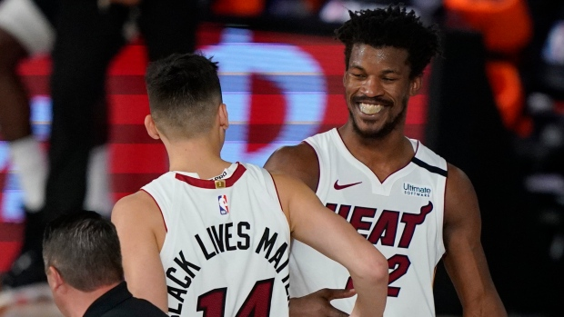 Jimmy Butler Wins It At Buzzer Miami Heat Top Milwaukee Bucks To Take 2 0 Series Lead Tsn Ca