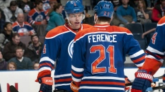 Taylor Hall and Andrew Ference