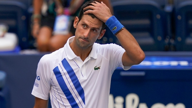 Novak Djokovic Defaulted From Us Open Tsn Ca