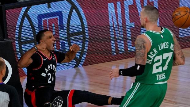 Toronto Raptors Outlast Boston Celtics In Double Overtime Thriller To Force Game 7 Tsn Ca