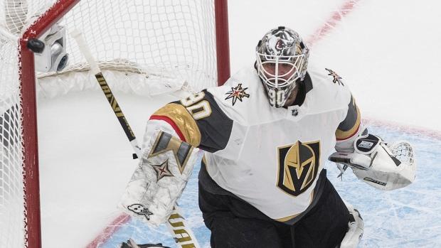 Vegas Golden Knights Robin Lehner starter net Game 4 - TSN.ca