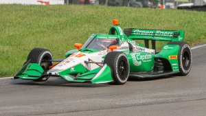 Herta takes St. Pete, ties father on IndyCar win list with four