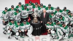 Dallas Stars with Clarence Campbell Bowl