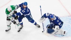 Lightning strike twice on power play, beat Dallas 3-2 to even Stanley Cup final Article Image 0