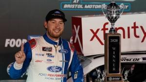 Briscoe grabs 8th win of season in Xfinity playoff opener