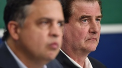 Jim Benning Travis Green Canucks