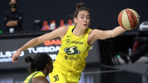 Stewart scores 27, Storm hand Sparks fifth straight loss