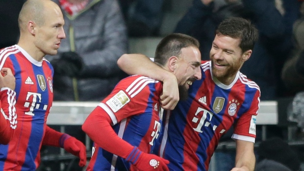 Ribery Scores 100th Goal For Bayern Munich To Beat Bayer
