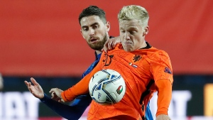 United's van de Beek out of Netherlands squad