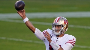 Shanahan remains coy on 49ers' QB choice; Garoppolo indicates 'it's official'