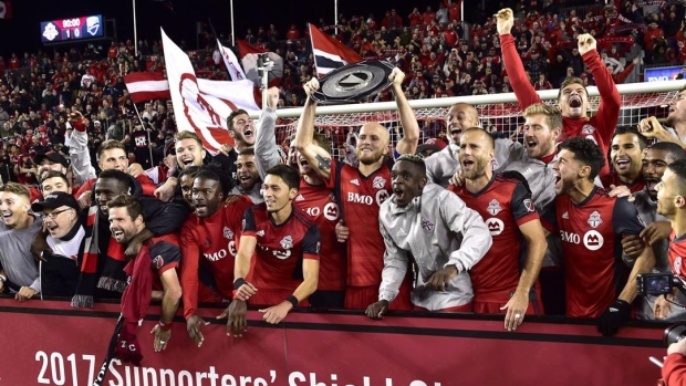Toronto FC wins Supporters' Shield