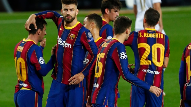 Barcelona rolls to Champions League win - TSN.ca