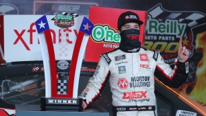 Burton snatches win and keeps Gragson out of championship