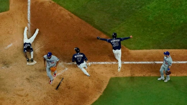 Tampa Bay Rays Los Angeles Dodgers