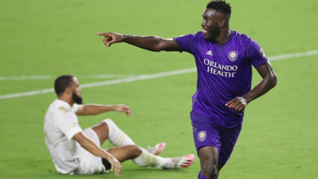 Dike has goal, assist in return, Orlando City beats Crew