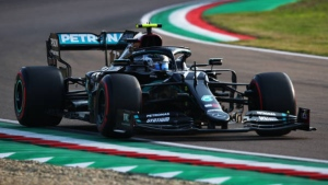 Bottas ahead of Hamilton in first practice at French GP
