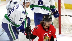 Erik Karlsson Senators Canucks The Canadian Press