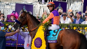 Authentic wins Breeders' Cup Classic