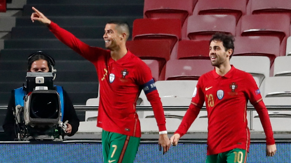 Is this Ronaldo's best Portugal supporting cast?