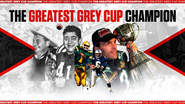 The Greatest Grey Cup Champion