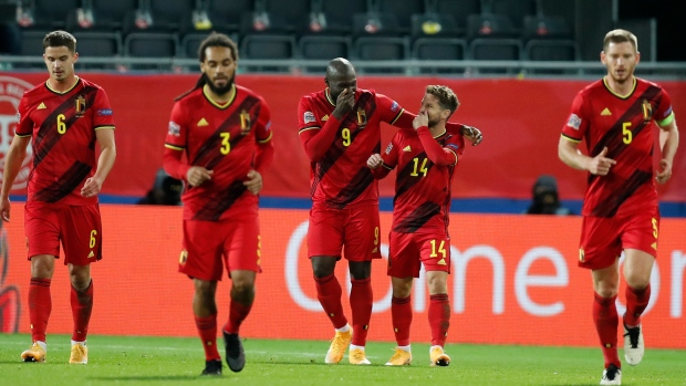 Romelu Lukaku Scores Twice Belgium Reaches Nations League S Finals Tsn Ca