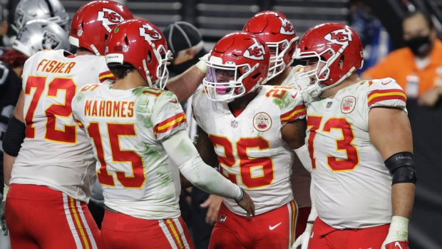 Kansas City Chiefs celebrate