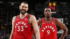 Marc Gasol and Serge Ibaka