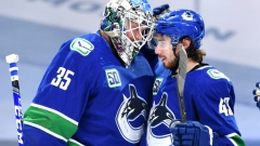 Button Nils Hoglander Can Challenge For Spot On The Canucks This Year Tsn Ca
