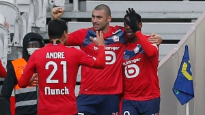 Leader Lille draws with Montpellier, leads PSG by four points