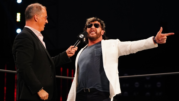 Don Callis and Kenny Omega