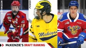 Blueliner Owen Power tops McKenzie's first 2021 Draft Ranking