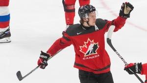 Byram, Cozens to split 'C' for Canada