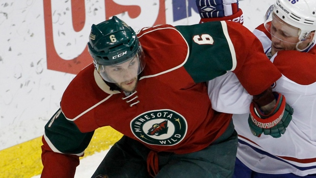 NHL suspends Wild D Scandella two games for hit on Nelson