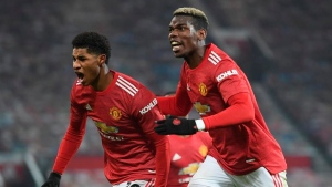 Report: United's Rashford (shoulder) out two months