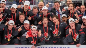 2020 Canadian junior squad named CP's team of the year