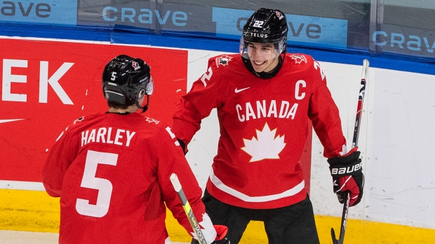 'Stud' Cozens 'dominating the game physically' for Canada