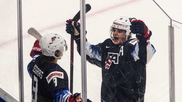 USA beats Sweden to win Group B