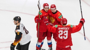 Russia survives Germany, advances to semis