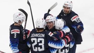USA beats Slovakia to advance to semifinals