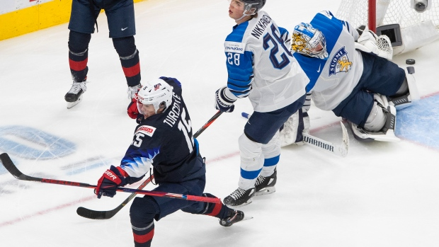 United States advances to World Junior final after edging Finland