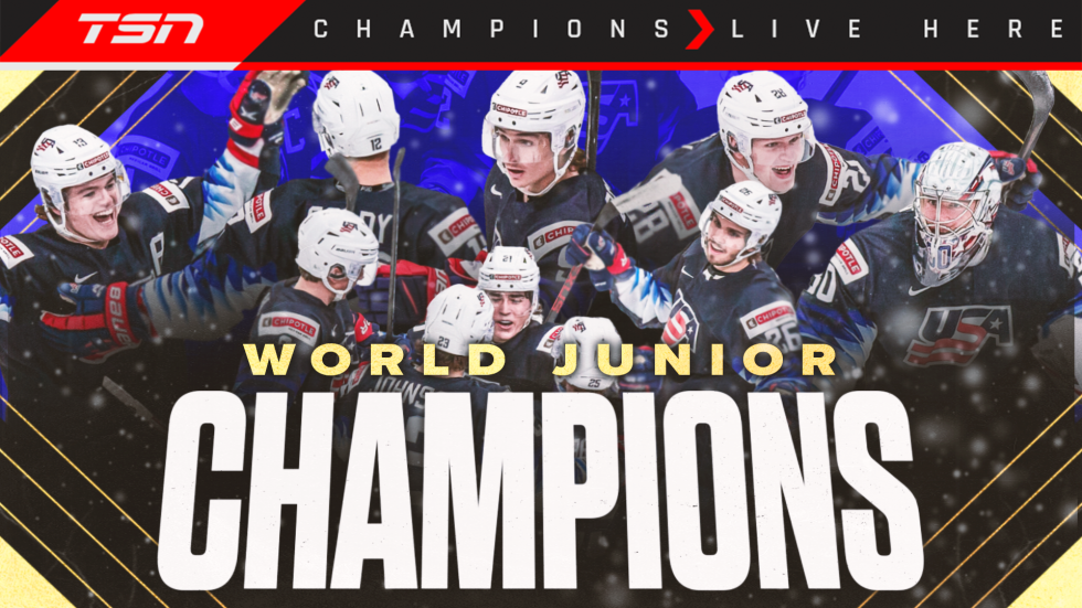 Knight, USA blank Canada to win 2021 World Juniors