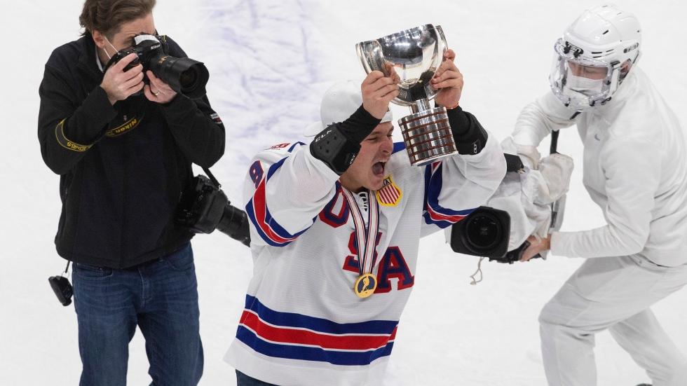 Zegras wins World Juniors MVP, Canada's Levi top goalie