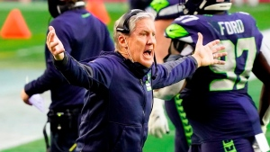 Football fans hilariously react to Pete Carroll's facial expressions during MNF