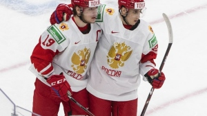 Button: Podkolzin has a thirst to make a difference all the time; Zegras was the MVP of the World Juniors