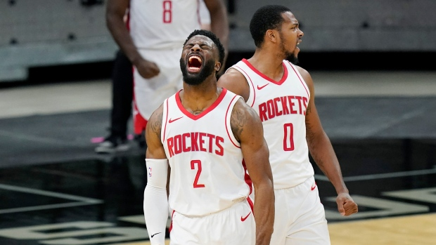 Houston Rockets rally past San Antonio Spurs in first game without James  Harden - TSN.ca