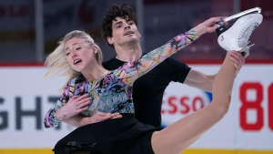 Gilles, Poirier lead after the rhythm dance of virtual Skate Canada Challenge